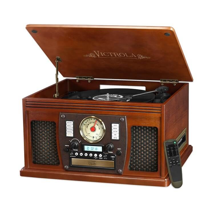 Victrola-record-player