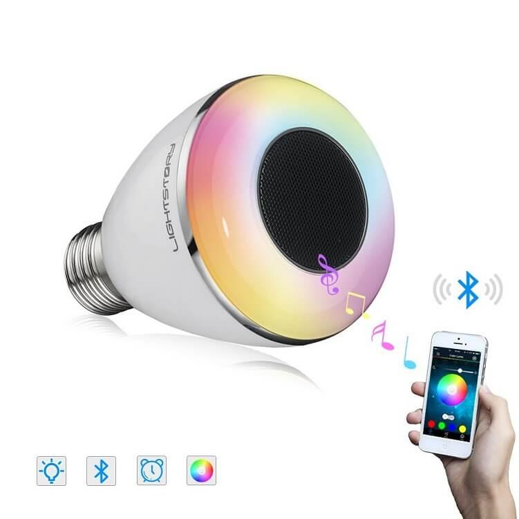 lightstory speaker bulb ensmartech