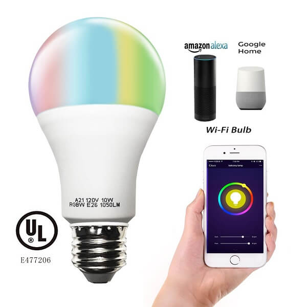 cxy multi-color light bulb
