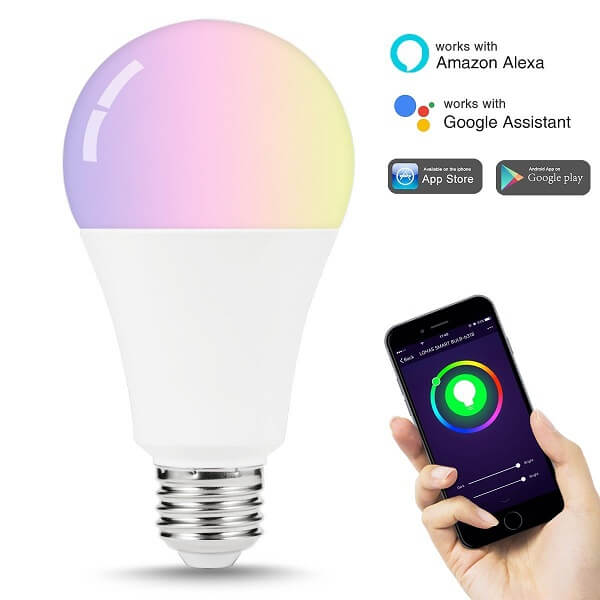 lohas multi-color light bulb