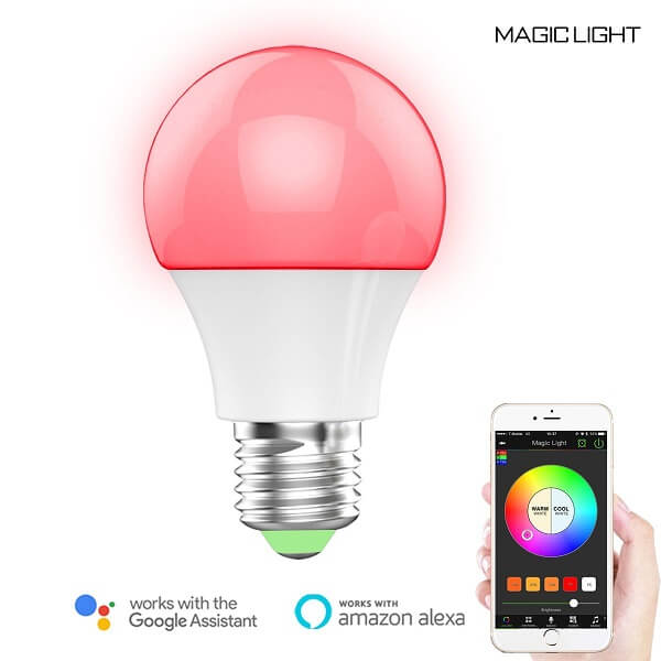 magiclight multi-color light bulb
