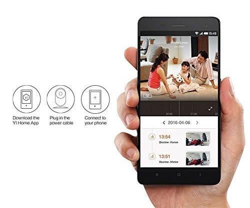 yi camera wireless camera for a home