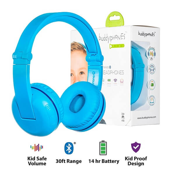 buddyphones kids wireless headphones