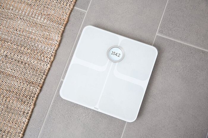 fitbit aria smart bathroom scale