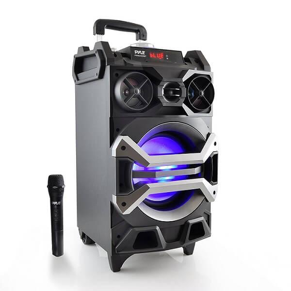 pyle portable sound system