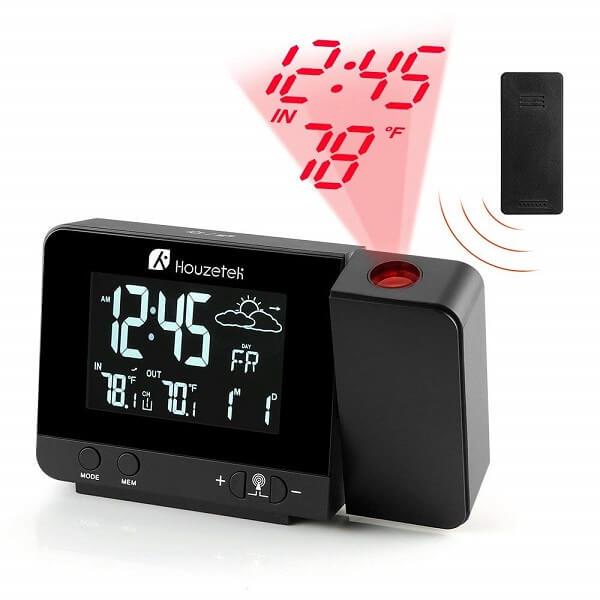 Houzetek smart projection clock