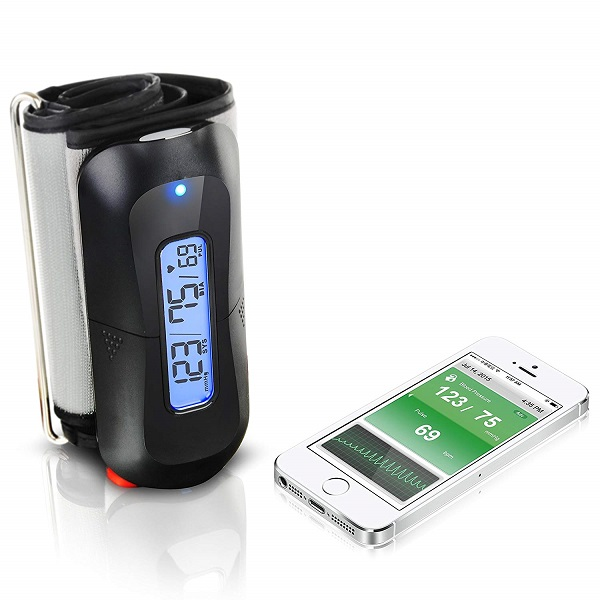 Mobilehealth Wireless Blood Pressure Monitor