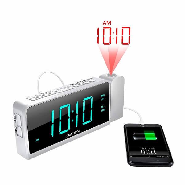 shanlonyi smart projection clock