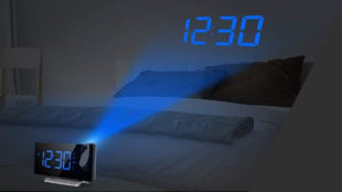 smart projection clock
