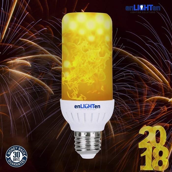 enlighten Flame Effect Light Bulb