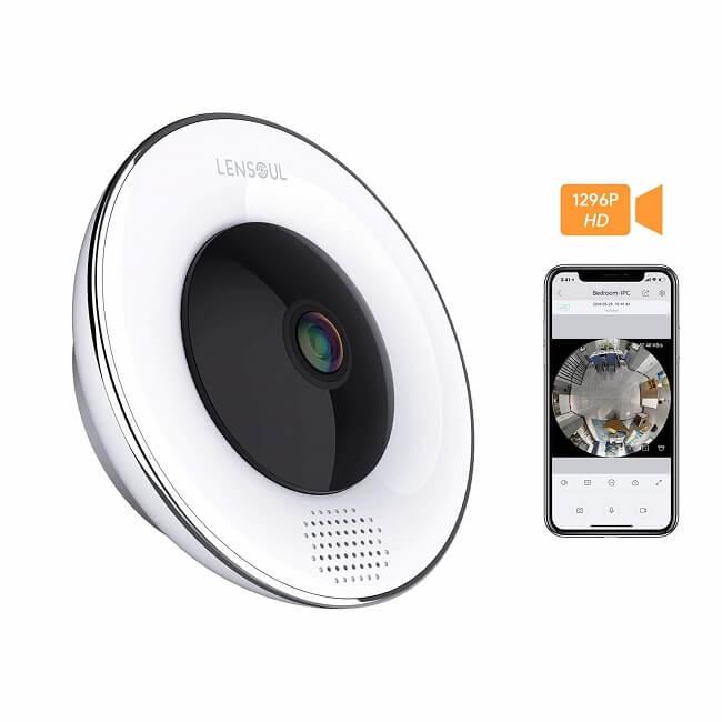 lensoul 360 degree home camera
