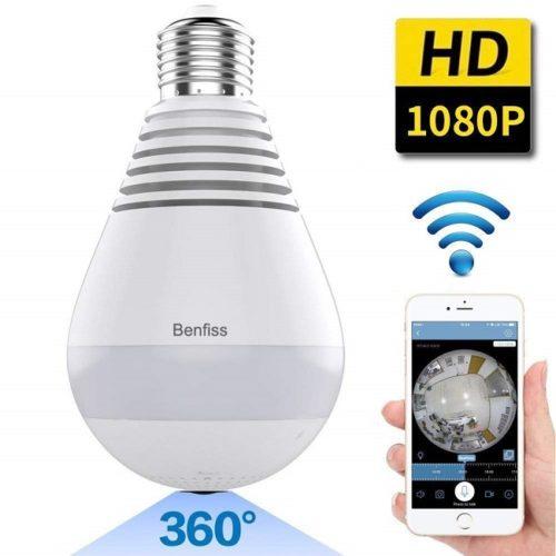 light bulb hidden camera solutions