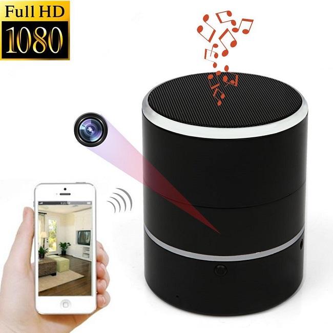 speaker hidden camera solutions