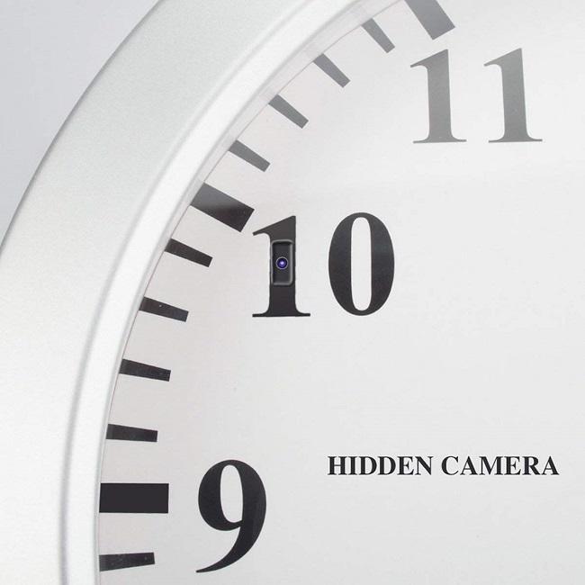 wall clock hidden camera solutions