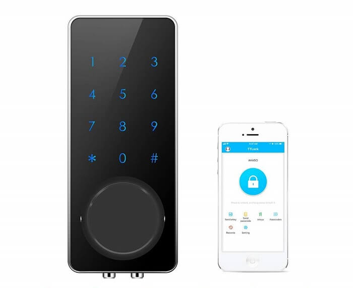 akaso wireless door lock