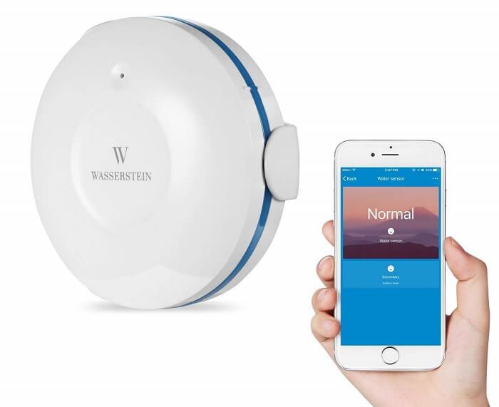 wassertein wifi water sensor