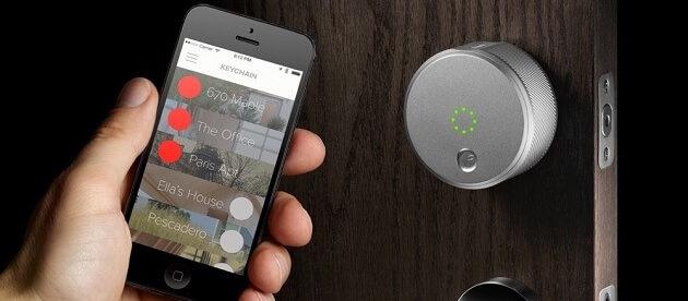 wireless door lock