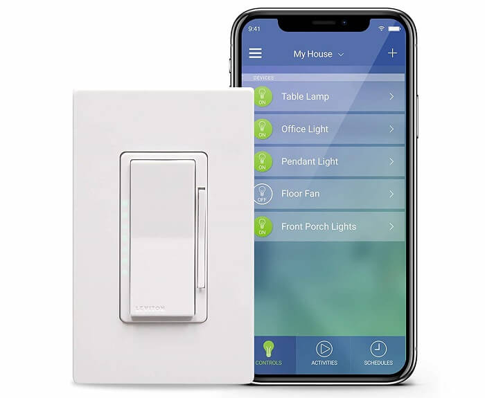 leviton wifi dimmer switch