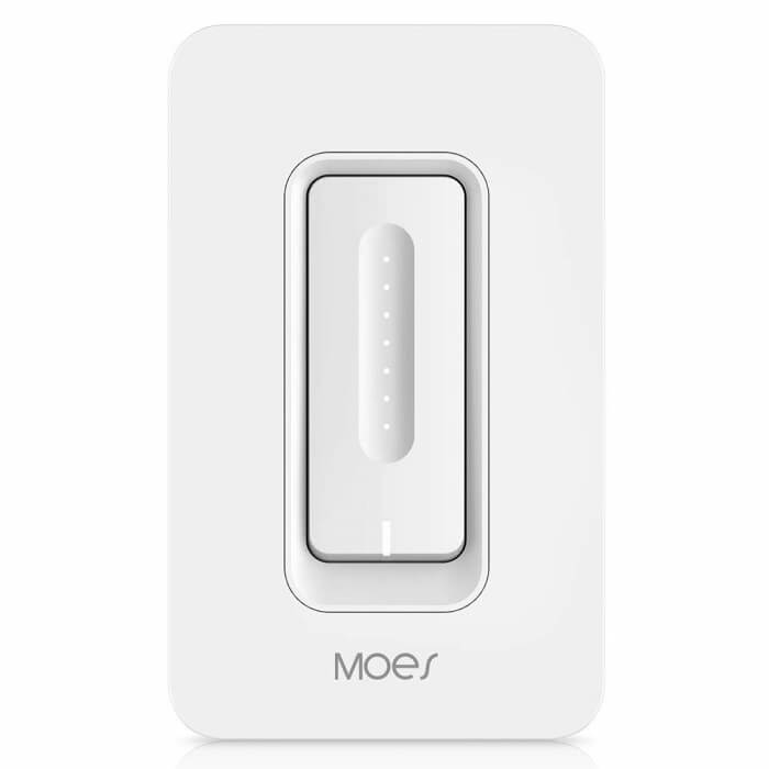 moes wifi dimmer switch