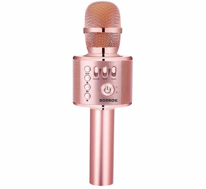 bonaok portable karaoke microphone