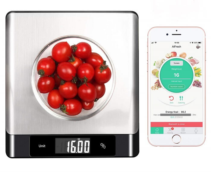 mocreo nutrition smart kitchen scale