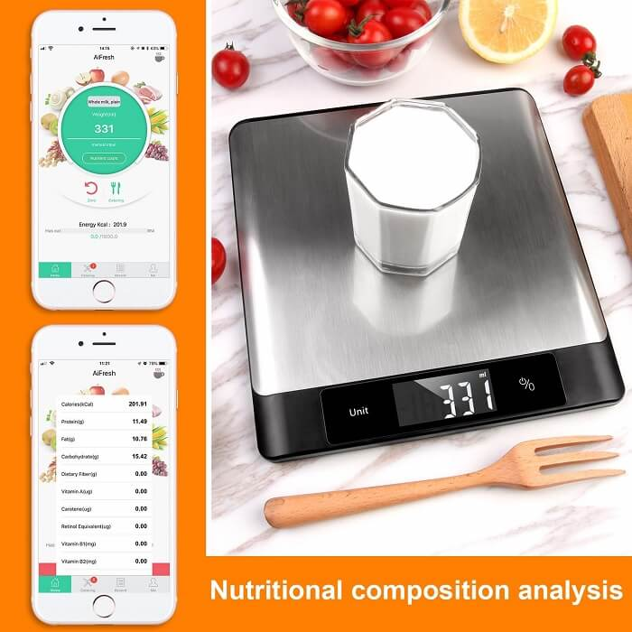 mocreo nutrition smart kitchen scale2