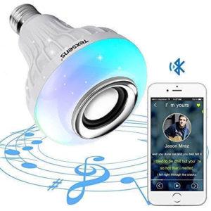 texsens light bulb speaker