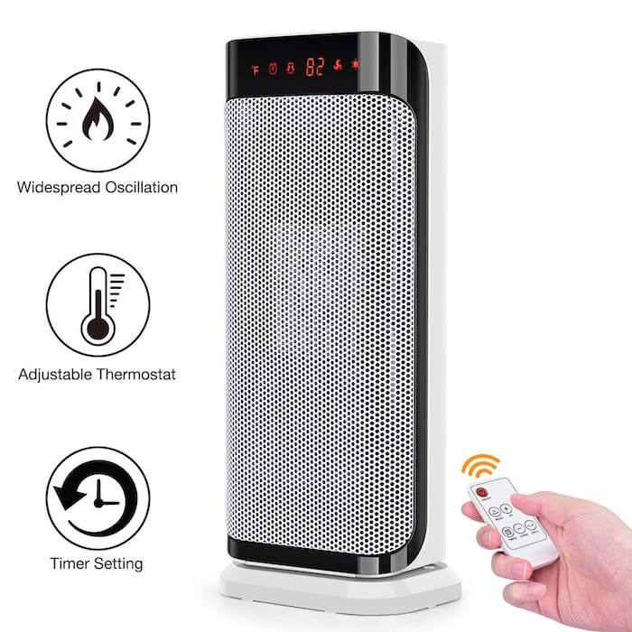 trustech compact space heater