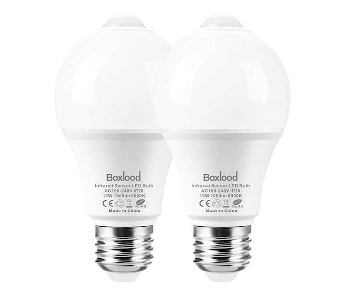 boxlood motion activated bulb