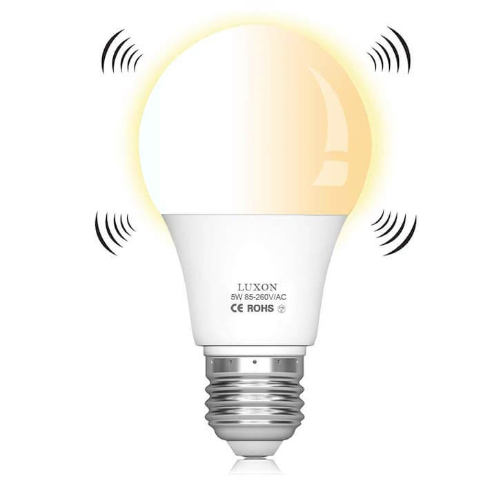 luxon motion activated bulb