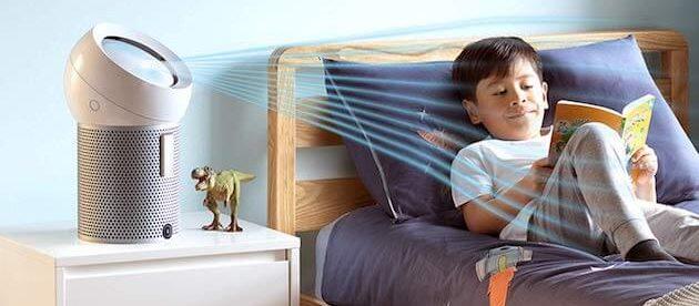 air cleaner fan