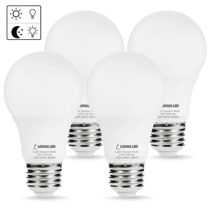 daylight sensor modern light bulb
