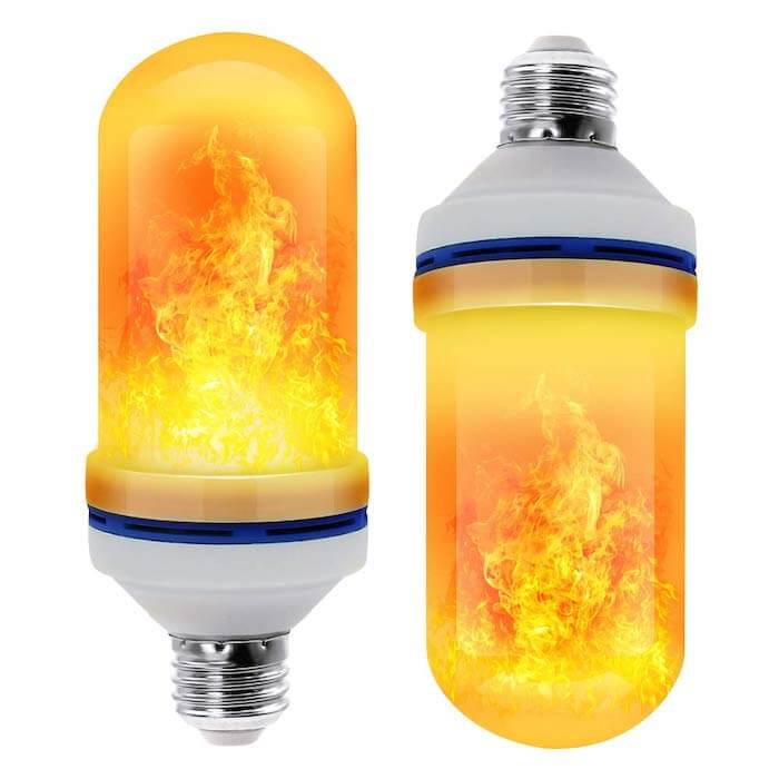 flame efect bulb modern light bulb