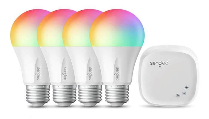 multicolor bulb modern light bulb