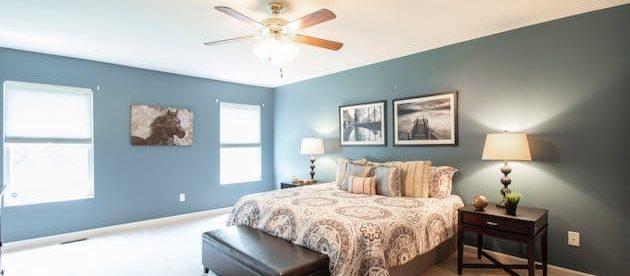 Smart home ceiling fan